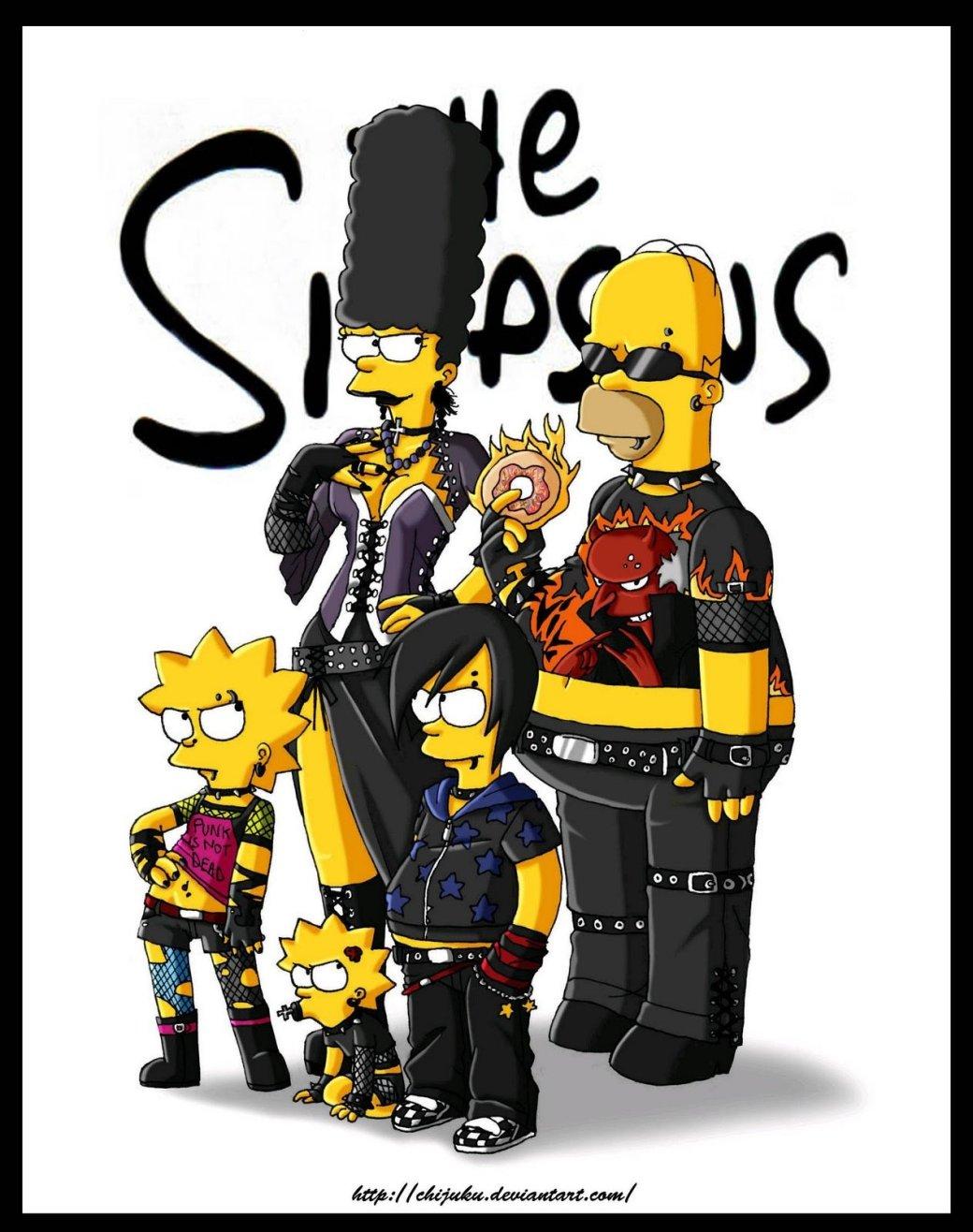 C днем рождения, Симпсоны - Изображение 7