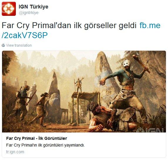 Ubisoft готовится к анонсу Far Cry Primal  - Изображение 1