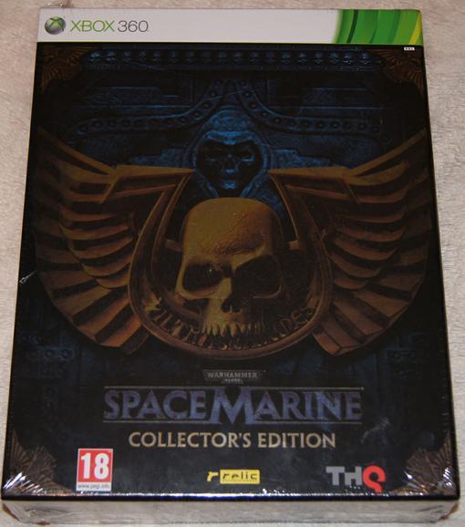 Анбоксинг европейского коллекционного издания Space Marine - Изображение 1