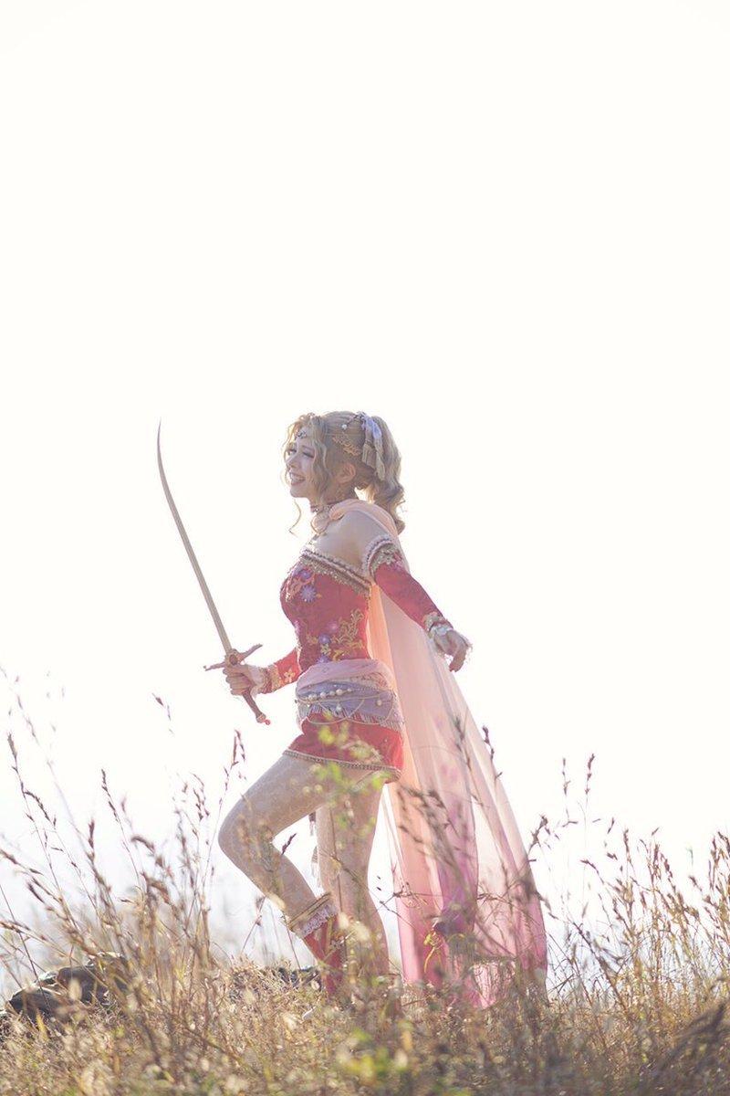 Качественный японский косплей героини Final Fantasy VI - Изображение 8