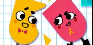 Snipperclips - Cut it out, together!. Анонсирующий трейлер