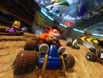 Два часа сCrash Team Racing Nitro-Fueled— чего ждать отремейка гонки сгероями Crash Bandicoot