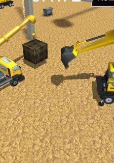 Excavator Construction Parking
