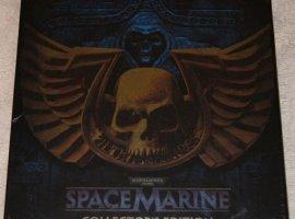 Анбоксинг европейского коллекционного издания Space Marine