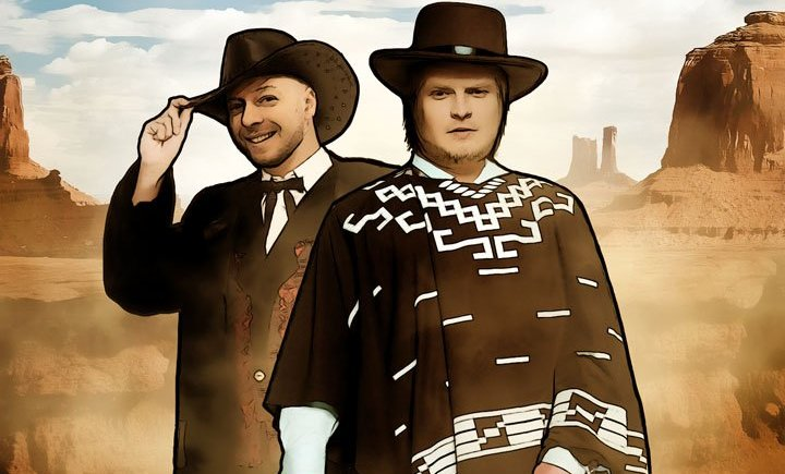 """""""Надо брать!"""" Зуев и Рыжков верхом на Call of Juarez: Gunslinger"""