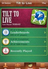 Tilt to Live – фото обложки игры
