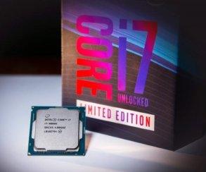 Intel официально представила ограниченную партию Core i7-8086K свозможностью разгона до5 GHz