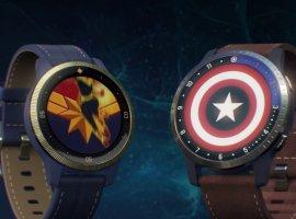 Garmin представила супергеройские смарт-часы с Капитаном Марвел и Капитаном Америка