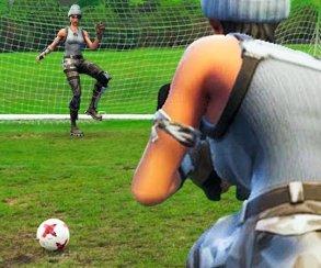 Российский футбольный клуб представил нового игрока спомощью Fortnite