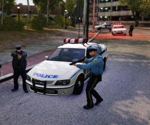 Гифка дня: виртуозный арест вGrand Theft Auto 4