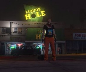 Гифка дня: легендарный трюк в Grand Theft Auto V