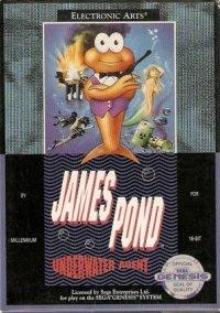 James Pond: Underwater Agent – фото обложки игры