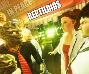 «Золото» Steam: рептилоиды, аниме-тян ибутылки