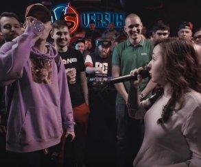 Versus-баттл «Л против Р»: Галат впервые на битах против девушки Mozee Montana