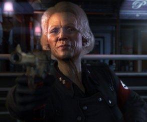 Старушка-нацистка заигрывает с героем Wolfenstein в новом ролике