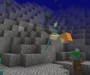 Трезубец в руки и пошел: в Minecraft вышла вторая часть масштабного обновления Aquatic