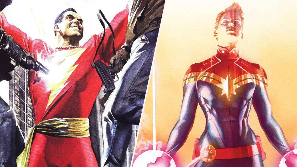 Версус. «Капитан Марвел» против «Шазама» | Канобу - Изображение 8