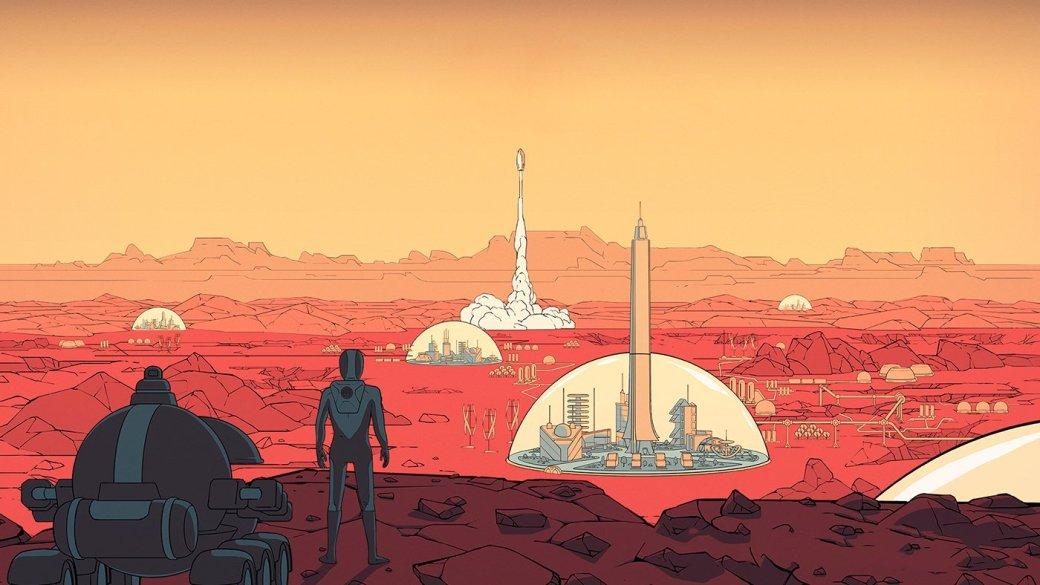 Surviving Mars — это симулятор колонизации Марса. Его делает болгарская Haemimont Games (сделали серию Tropico), а издает Paradox. Вы выбираете спонсора экспедиции, упаковываете первую ракету экипировкой и роботами, которые обустроят пространство для первой партии колонистов. Иногда вы будете находить аномалии — это части Загадки, особого сюжета, случайно выпавшего на текущую партию. Карты и условия каждый раз генерируются заново: ландшафт, ресурсы, напасти вроде экстремальных заморозков или пылевых бурь. Само собой, вы будете часто проигрывать. То вода замерзнет, то метеорит пробьет купол поселения, то какой-нибудь космонавт сойдет с ума и начнет бегать по колонии голый с ружьем. На Марсе сложно.