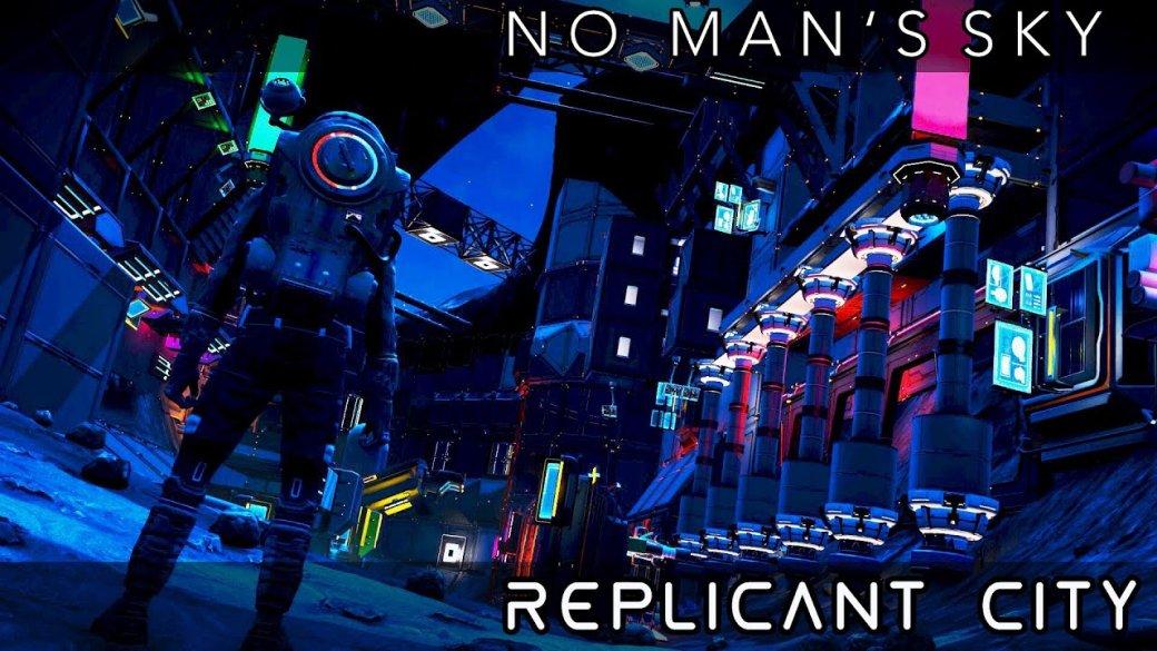 Фанаты построили вNoMan's Sky огромный киберпанк-город. Впечатляет! | Канобу - Изображение 1