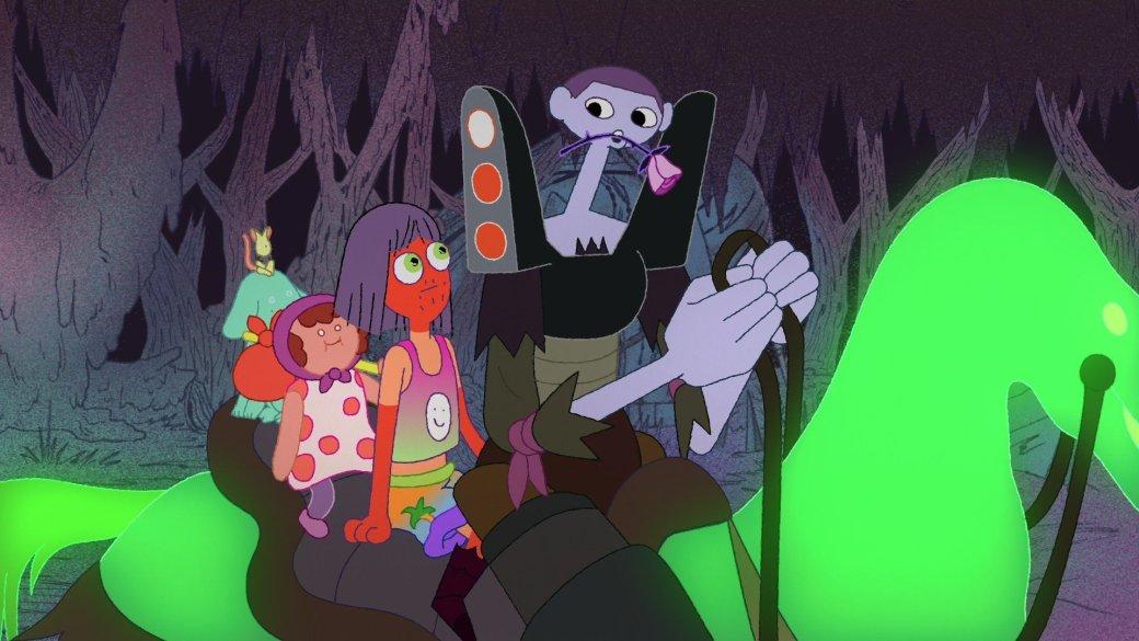 Рецензия на«Полночные откровения» — безумный ибесконечно личный сериал отсоздателя Adventure Time