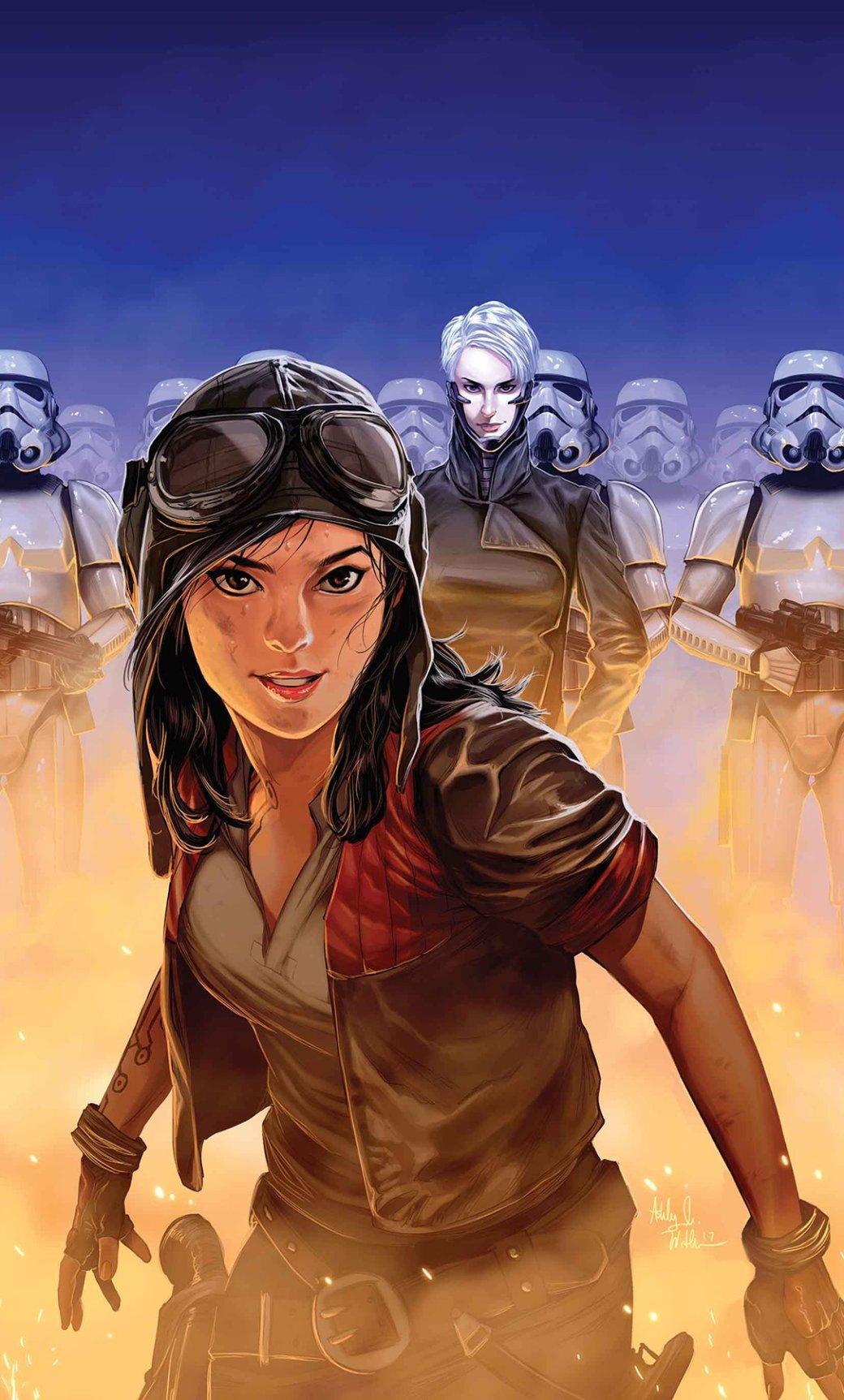 Нетолько Лея! 5 главных женских персонажей нового канона «Звездных Войн». - Изображение 17