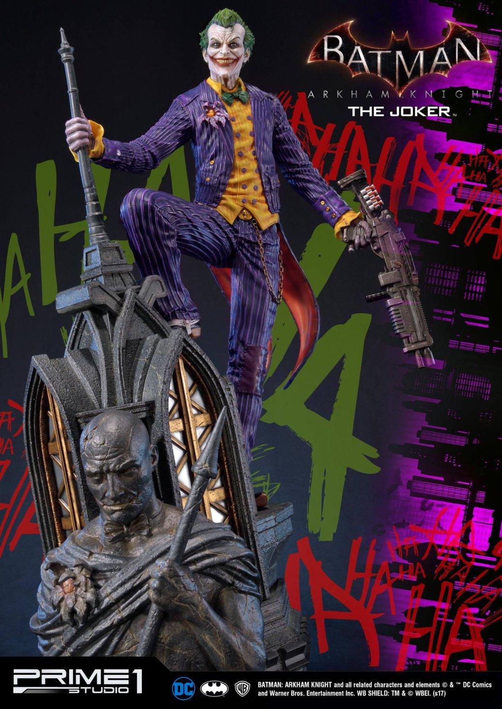Новая статуя Джокера изBatman: Arkham Knight выглядит впечатляюще | Канобу - Изображение 5