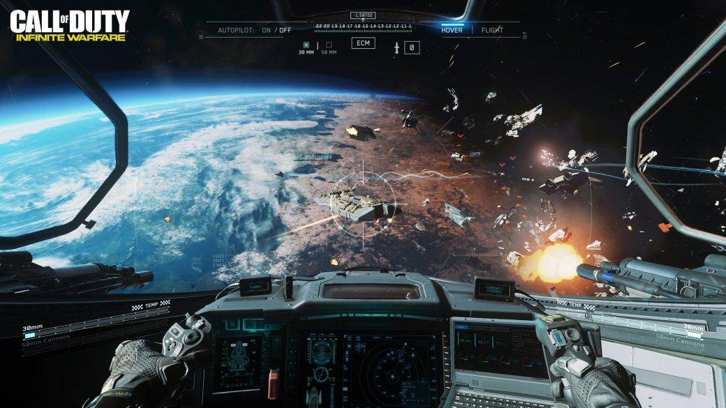 Разработчики Infinite Warfare пояснили, почему в космосе слышны взрывы | Канобу - Изображение 12964