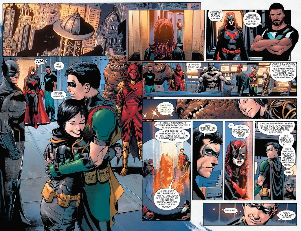 Бэтмен будущего, данетот: как два Тима Дрейка встретились настраницах комикса DC. - Изображение 13
