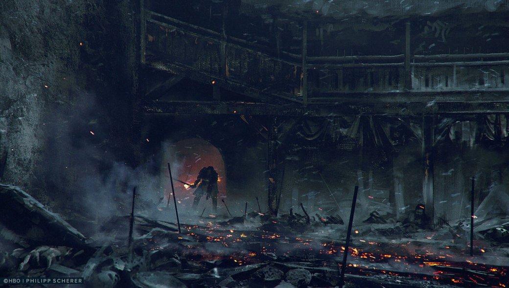 Художник выложил концепт-арты к8 сезону «Игры престолов». Иххоть сейчас ставь нарабочий стол | Канобу - Изображение 680