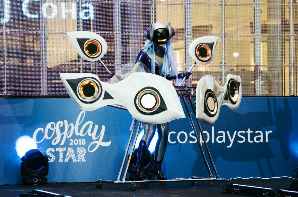 Лучший косплей сфестиваля Cosplay Star 2018: Пеннивайз, Джон Сноу, Роковая вдова идругие. - Изображение 117