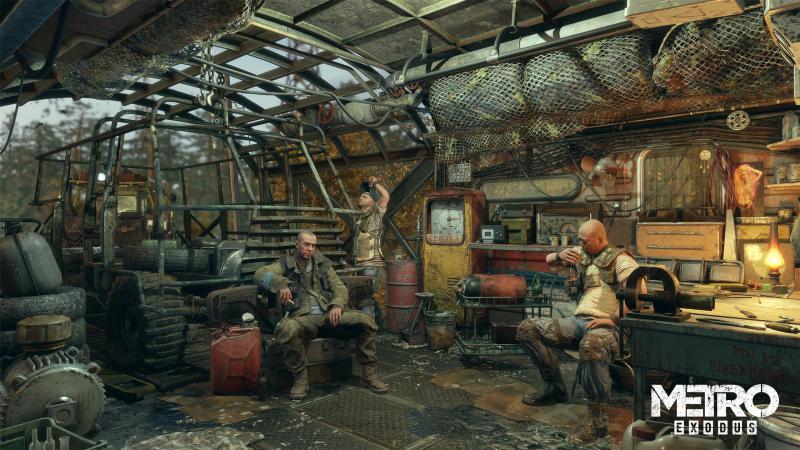 Романтика постапокалипсиса на новых скриншотах Metro: Exodus | Канобу - Изображение 3