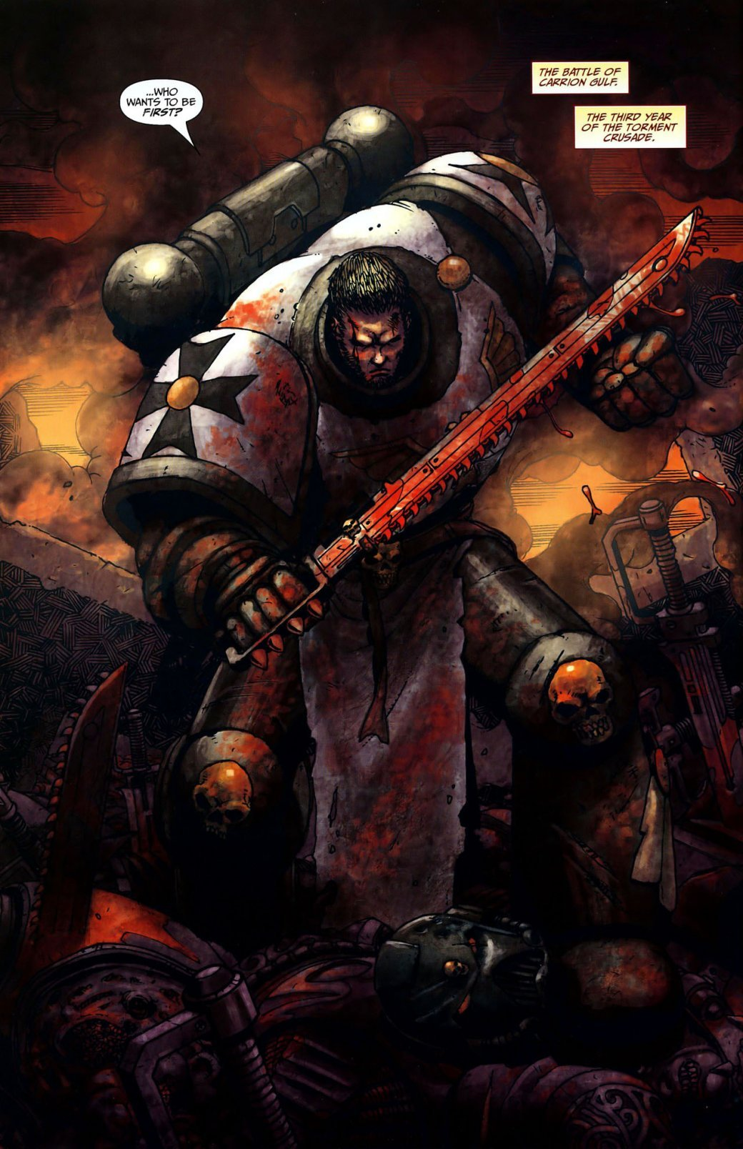 Самые крутые комиксы по Warhammer 40.000 | Канобу - Изображение 15