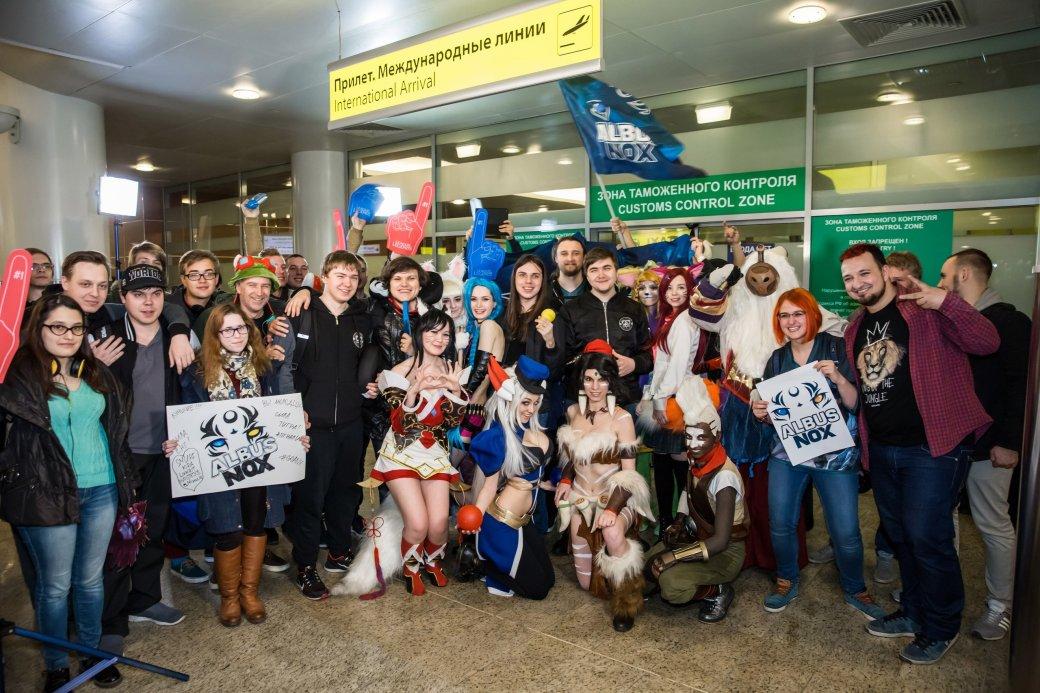 Фанаты встретили Albus NoX Luna в Шереметьево как героев | Канобу - Изображение 9843