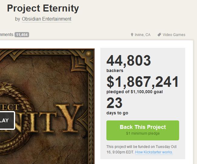 Kickstarter как уникальное предложение | Канобу - Изображение 4