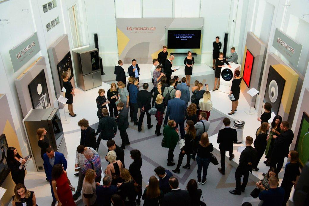 LGпредставила новый топовый монитор иоткрыла выставку вМузее современного искусства | Канобу - Изображение 1