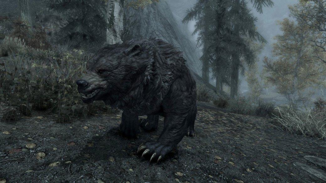 Гифка дня: жутко длинный медведь-акробат в«Скайриме»   Канобу - Изображение 1866
