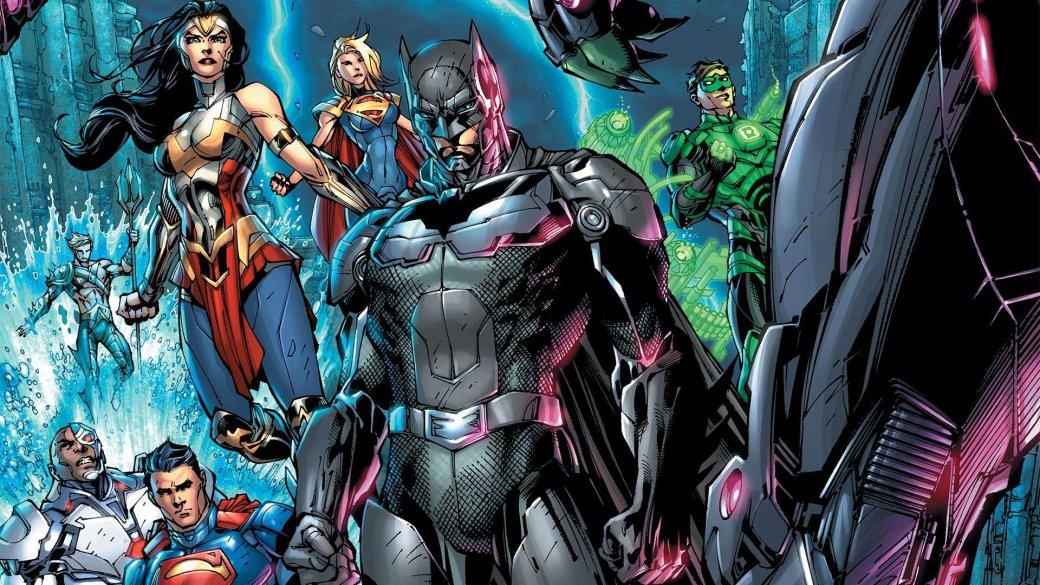 10 безумных вещей изприквела Injustice 2: президент-супергерой, двойник Бэтмена, свадьба злодеев | Канобу