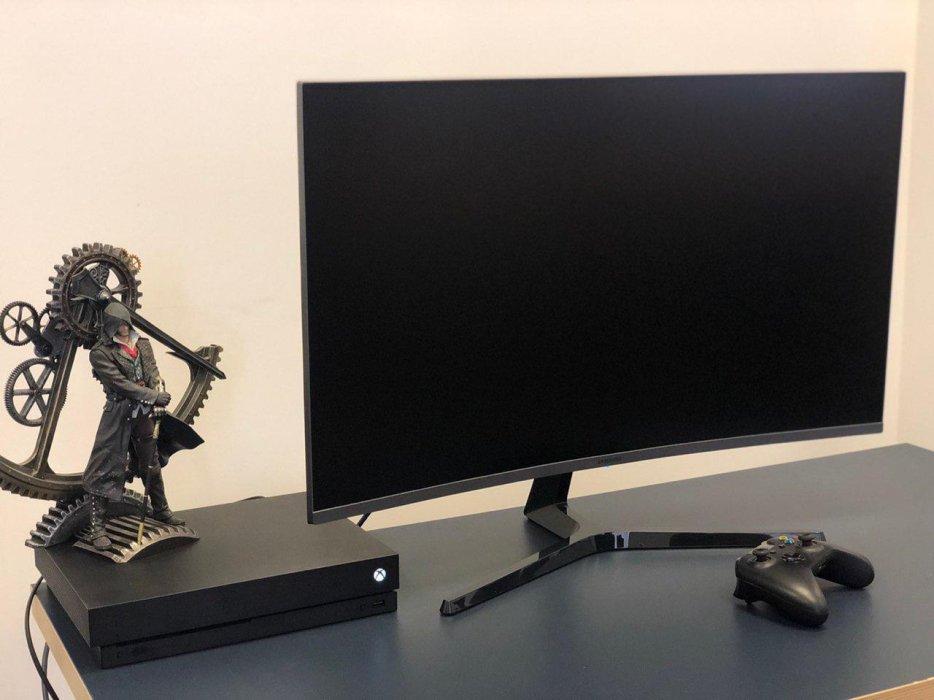 Пробуем играть наОГРОМНОМ мониторе: обзор Samsung 32JG50QQI (CJC50) | Канобу