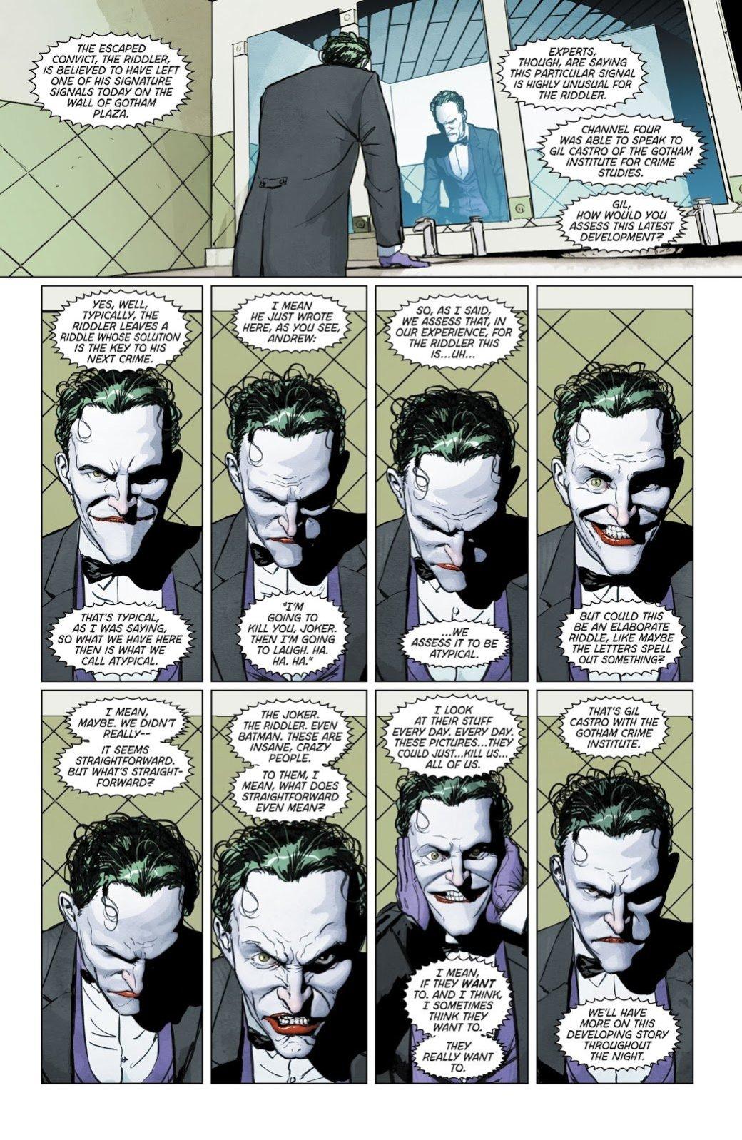 Зачем нужна была война Джокера иЗагадочника настраницах комикса «Бэтмен»?. - Изображение 10
