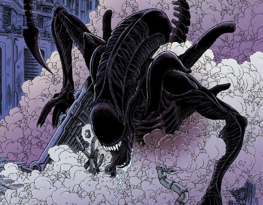 Aliens: Dead Orbit— невероятно красивый комикс, который обязательно нужно прочесть. Вот почему. - Изображение 1