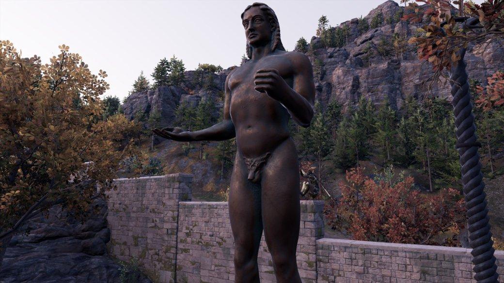 Журналист PCGamer составил топ пенисов изAssassin's Creed Odyssey— речь, конечно, остатуях | Канобу - Изображение 9