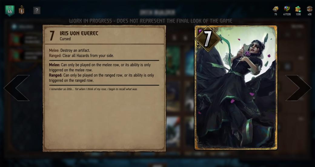 Авторы «Гвинта» вновом ролике показали будущие изменения игры. Дизайн станет похожим на«Ведьмака»!. - Изображение 3