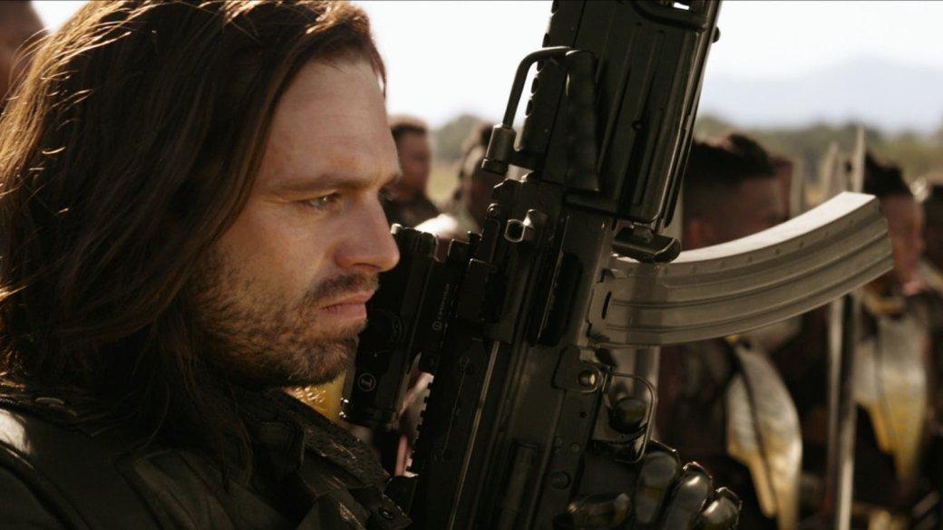 Баки Барнс— больше неЗимний солдат, теперь онБелый волк. Что это значит для «Войны Бесконечности». - Изображение 1