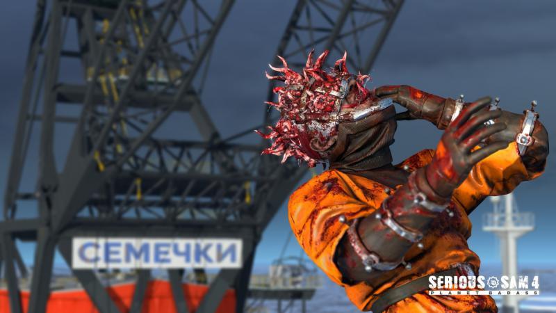 СЕМЕЧКИ на новых скриншотах Serious Sam 4: Planet Badass. Сэм заглянет в наши края?. - Изображение 1