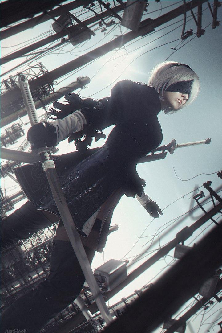 Косплей дня: девушка-андроид 2B изNieR: Automata | Канобу - Изображение 3