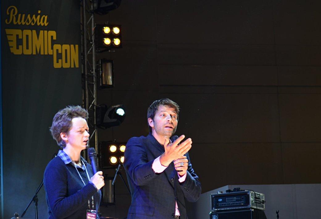 Фотоотчет с «Игромира» и Comic Con Russia, день 3 – Миша Коллинз | Канобу - Изображение 31