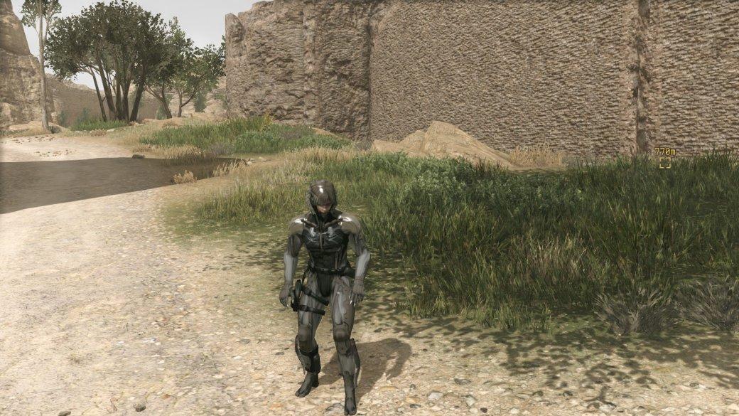 Этот мод позволит играть в Metal Gear Solid V каноничным Райденом . - Изображение 1