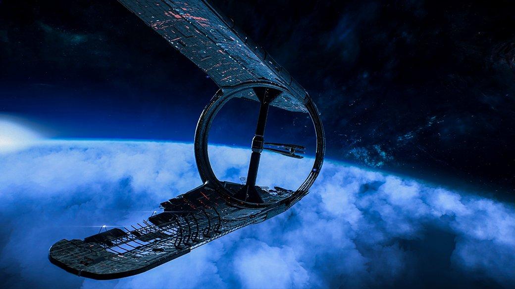 Потрясающий космос Mass Effect: Andromeda   Канобу - Изображение 9895