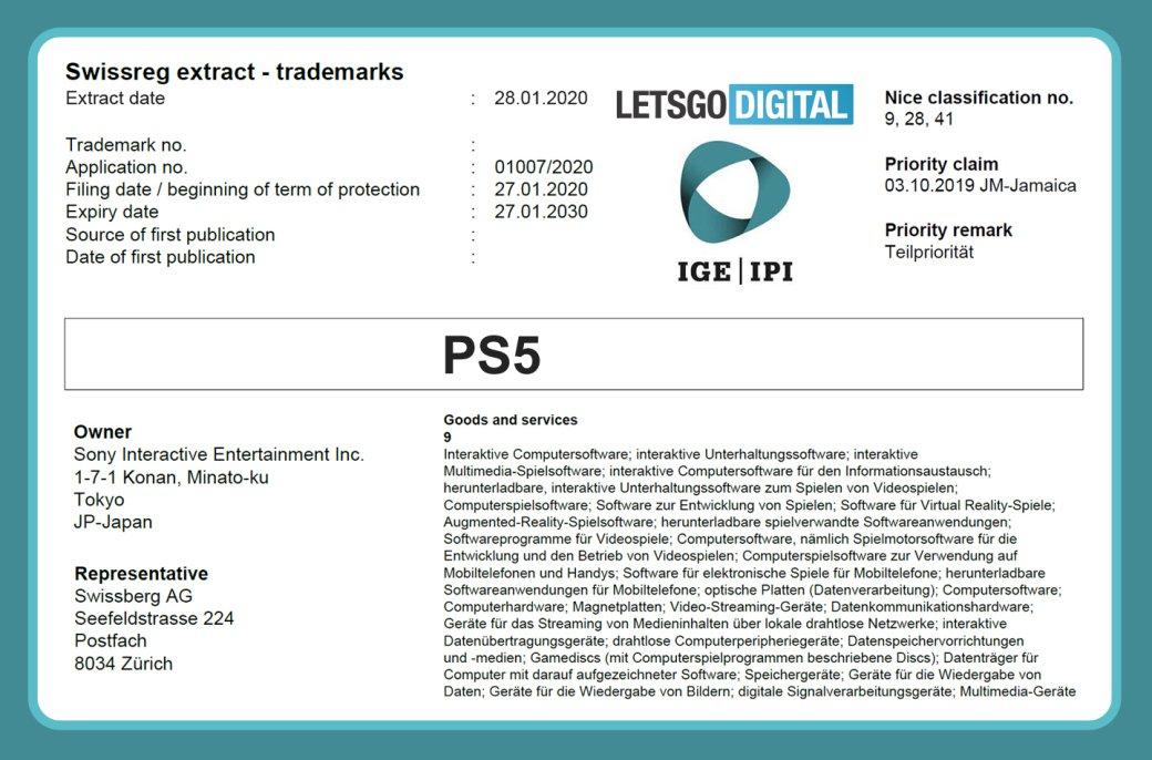 Анонс PlayStation 5 скоро. Sony зарегистрировала торговую марку PS5 | Канобу - Изображение 10916