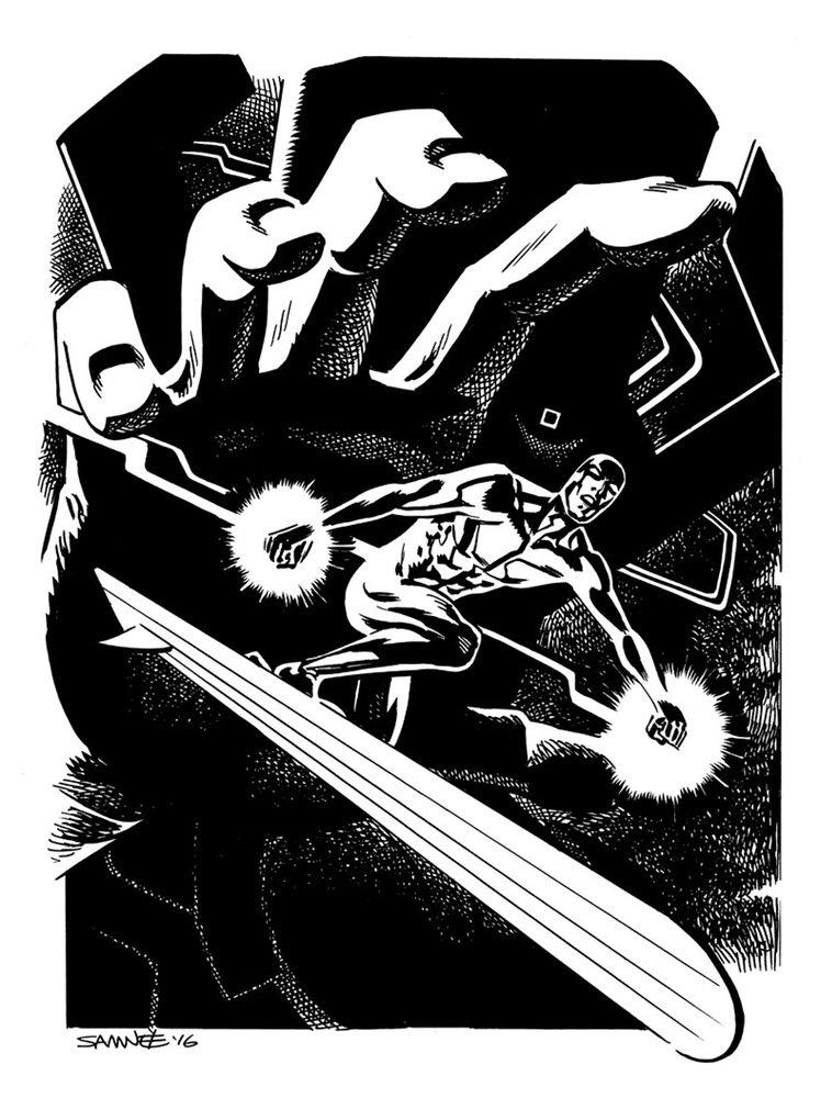 Супергерои Marvel и DC в рисунке Криса Сомни | Канобу - Изображение 8824